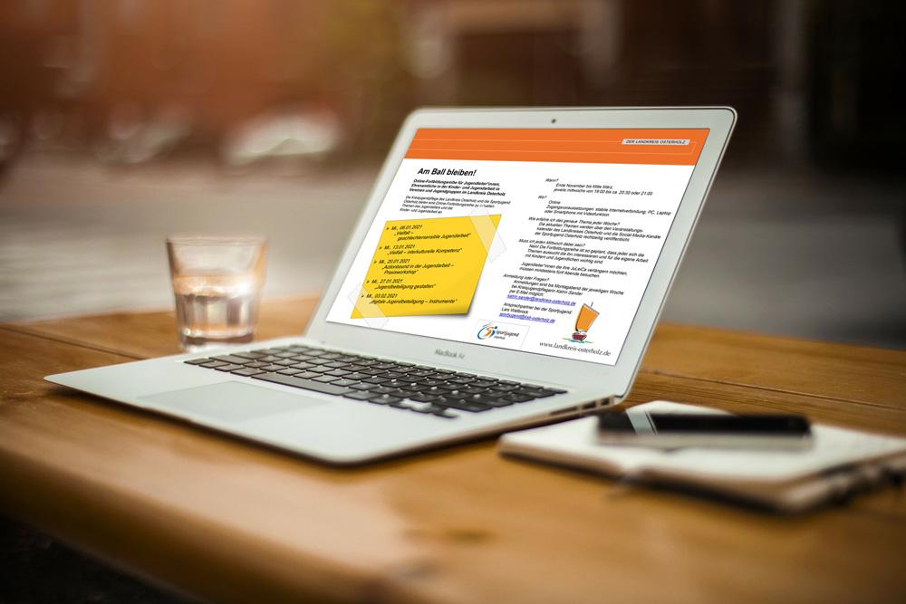 Laptop Online Fortbildung