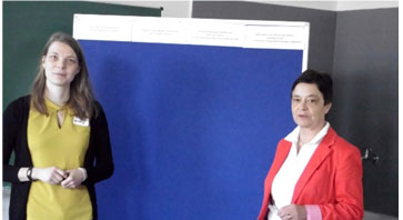 Planung Zukunftsforum: Anne Surborg (links), Elisabeth Fischmann
